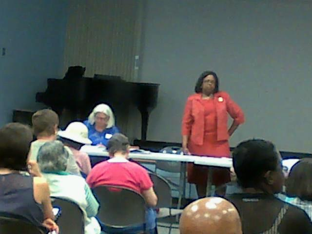 August 19 meeting at South Regional Library